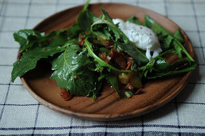 Easy Everyday: Dandelion Greens Salad