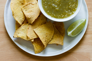 Small Batch: Crispy, Oven-Baked Tortilla Chips