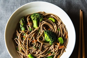 The New Veganism: A Spring Soba Noodle Salad