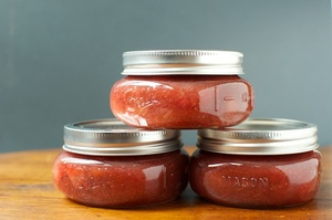 Small Batch: Strawberry Rhubarb Jam