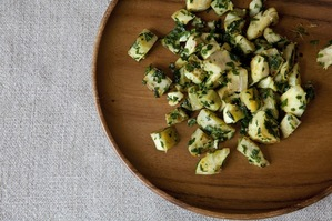 Easy Everyday: Artichokes with Parsley and Preserved Lemon Pesto
