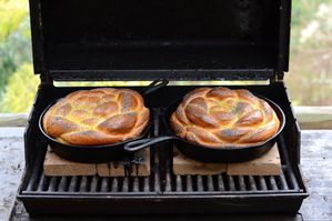 Small Batch: Challah Baked on the Grill