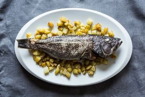 Easy Everyday: Whole Roasted Fish with Rosemary Potatoes