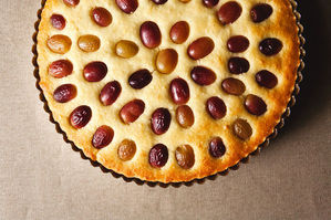 Easy Everyday: Grape, Almond, and Olive Oil Cake