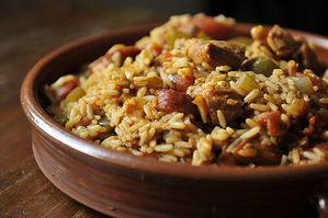 Easy Everyday: Brown Rice Pilaf with Prosciutto and Sun-Dried Tomatoes