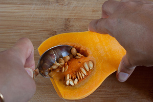Kitchen Basics: Prepping Butternut Squash
