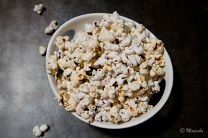 Indian Food Rocks: Spiced Popcorn
