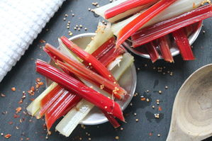 Small Batch: Pickled Chard Stems