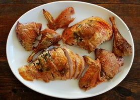 Easy Everyday: Herb-Rubbed Roast Turkey