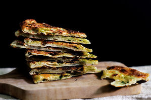 Small Batch: Scallion Pancakes