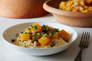 Make It Meatless: Warming Winter Squash Tagine + Mandarin Cake