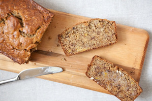 Easy Everyday: Flax and Honey Banana Bread