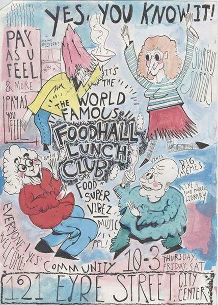 Foodhall lunch club