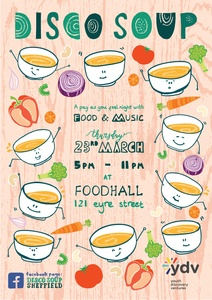Disco soup poster logo 001