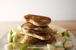 Farro protein pancakes