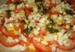 Tomato - Cucumber Salad With Fresh Basil Recipe