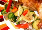 Very Quick Stir Fry Vegetables With an Italian Flair Recipe