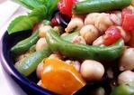 Warm Bean and Tomato Salad with Basil Recipe