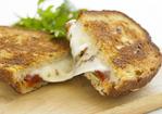 Fried Mozzarella Panini Recipe