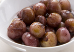 Glazed Shallots with Red Wine Recipe