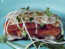 Sashimi Napolean Recipe