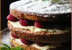Raspberry and Lemon Layer Cake Recipe