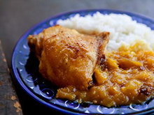 Chicken with Mango Chutney Sauce Recipe