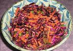 Red Cabbage and Carrot Salad Recipe