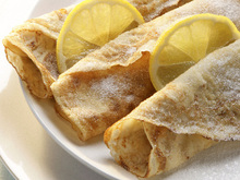 Lemon and Sugar Crêpes Recipe
