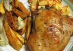 Roasted Cut up Chicken and Vegetables Recipe