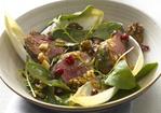 Warm Lamb Salad with Pomegranate and Walnuts Recipe