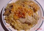 Baked Chicken Reuben in a Cast Iron Skillet Recipe