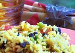 Black Bean & Yellow Rice Salad Recipe