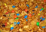 Caramel Crispix Mix W/ M&m's Recipe