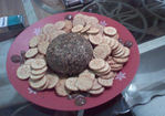 Cheese Ball With Everything Recipe