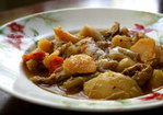 Dad's Turkey Stew Recipe