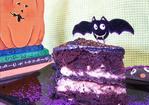 Dark Creepy Gory Chocolate Cake Recipe