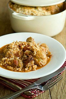 Cassoulet-style French Bean Stew Recipe