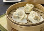 Pork Dumplings with Dipping Sauce Recipe