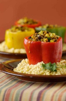 Curried Stuffed Peppers Recipe
