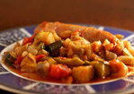 Italian Sausages with Ratatouille Recipe