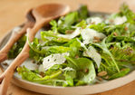 Fall Greens Salad with Pumpkin Seeds and Asiago Recipe