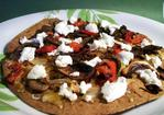 Grilled Vegetable Pizza Recipe