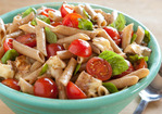 Pasta with Brie, Basil and Tomatoes Recipe