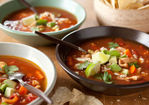 Mexican Chicken Soup with Ancho Chiles Recipe