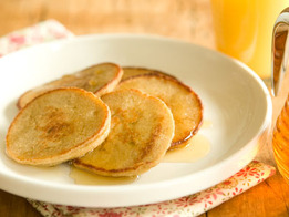 Oatmeal-Apple Pancakes Recipe