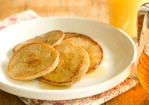 Oatmeal-Apple Pancakes Recipe