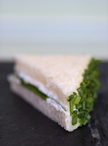 Goat Cheese and Chive Tea Sandwiches Recipe Recipe