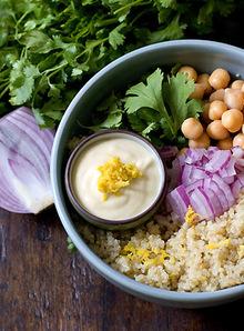 Lemon-scented Quinoa Salad Recipe Recipe