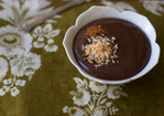 Coconut Chocolate Pudding Recipe Recipe